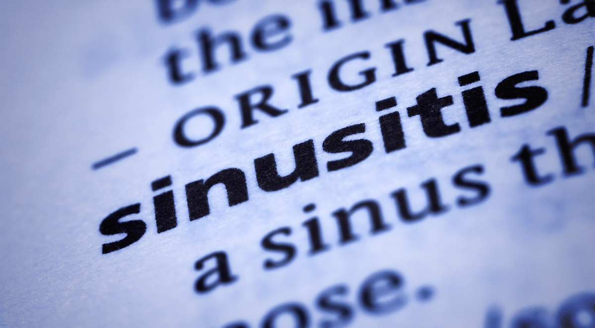 Expert recommends best practice to treat adult sinusitis